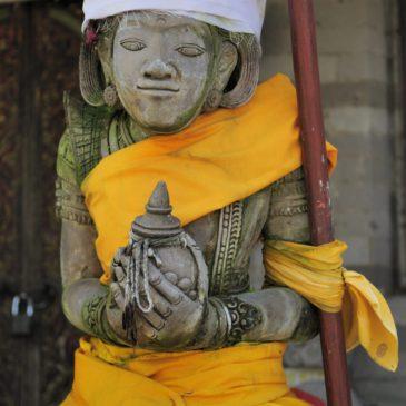Le temple Dasar (Pura Dasar) de Gelgel, Bali, Indonésie