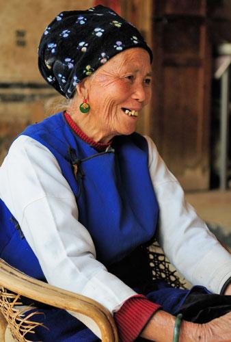 Le village ShuangLang (ShuāngLáng 双廊), sur la rive est du lac Erhai (ěrhǎi, 洱海) près de Dali (Dàlǐ 大理), Yunnan (Yúnnán 云南)