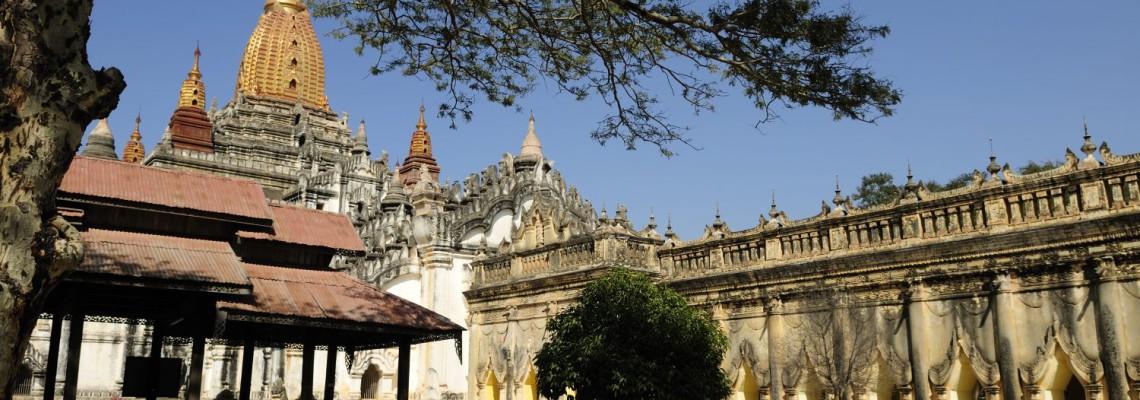 Le temple d'Ananda, l'un des plus beaux temples de Bagan