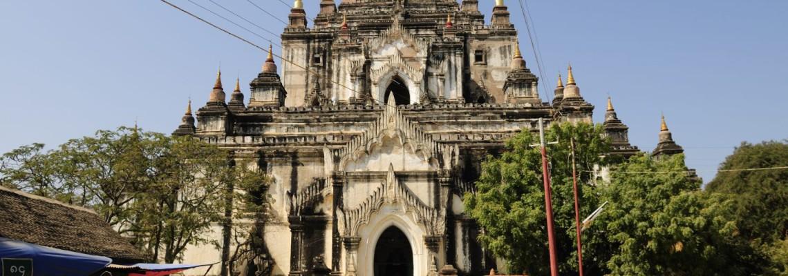 Temple Thatbyinyu, le plus élevé de Bagan