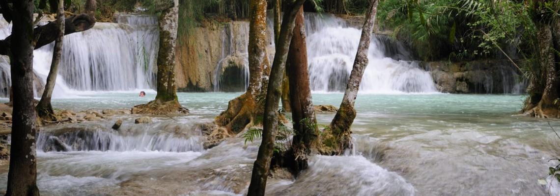 Cascade Khouangsi, Luang Prabang, Laos