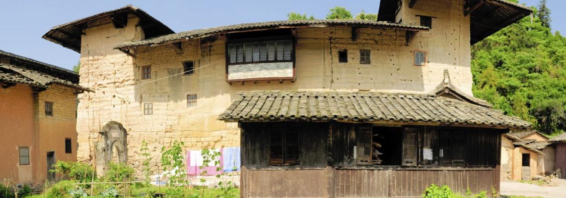 Le village de Hóngkēng 洪坑, 22 générations d'un même clan, Fujian, Chine