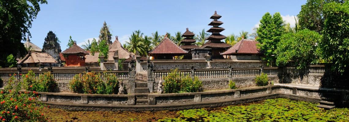 Le temple Masceti (Pura Masceti), l'un des 9 temples directionnels de Bali