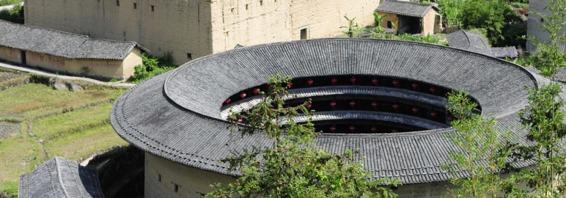 Le village Nánxī 南溪 et ses 2 magnifiques Tǔ Lóu 土楼