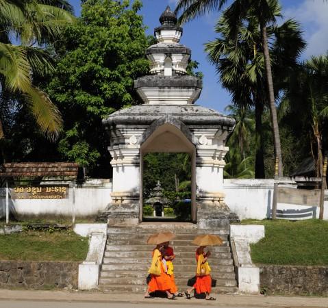 Temple That Makmo, Luang Prabang, Laos