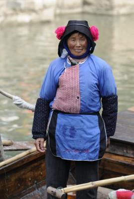 Villages d'eau autour de Shanghai (Shànghǎi 上海)