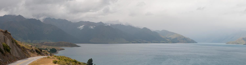 Lac Hawea, Ile du Sud, Nouvelle-Zélande