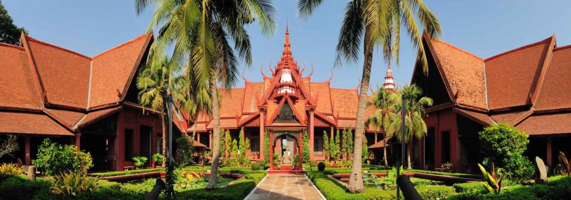Musée national, Phnom Penh, Cambodge