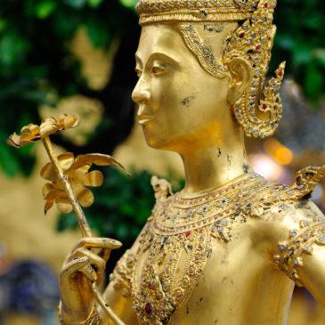 Wat Phra Kaeo, Bangkok, Thailande