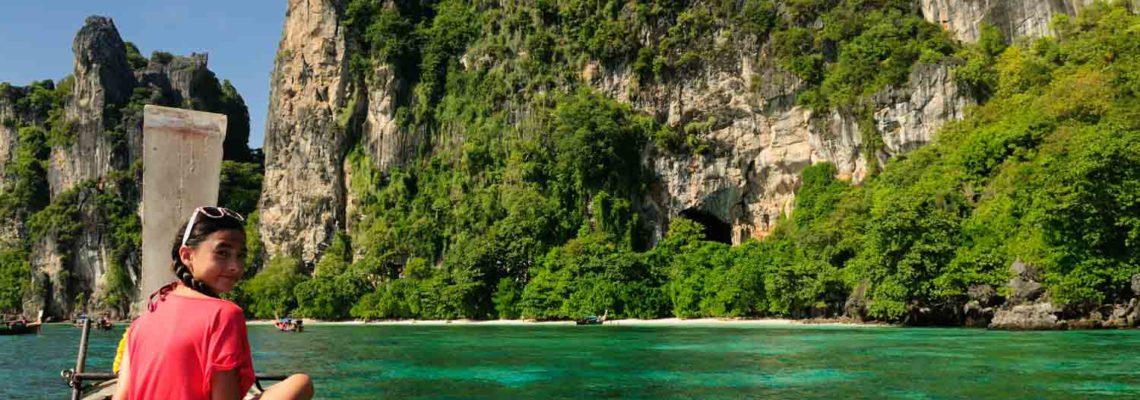 Koh Yung (Mosquito Island), Krabi Province, Thailande