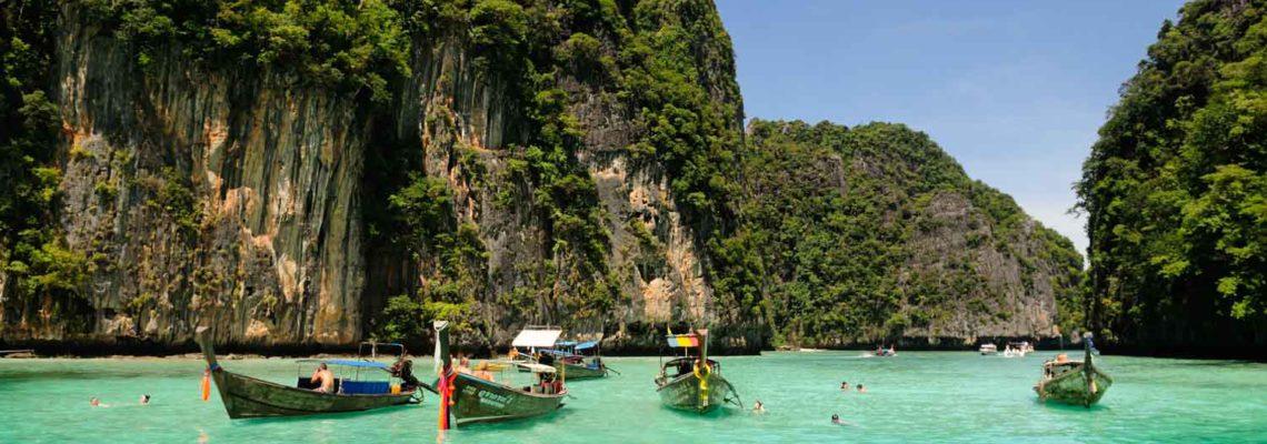 Koh Phi Phi Ley, Krabi Province, Thailande