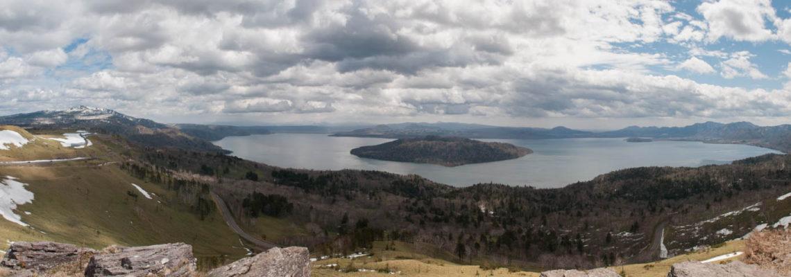 Lac Kussharo-Ko, Parc national d'Akan, Hokkaido, Japon