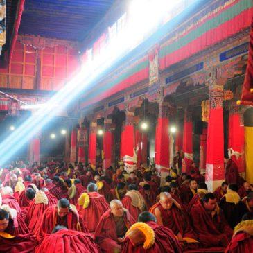 Monastère de Sera, Sè Lā Sì 色拉寺, Lhasa, Tibet
