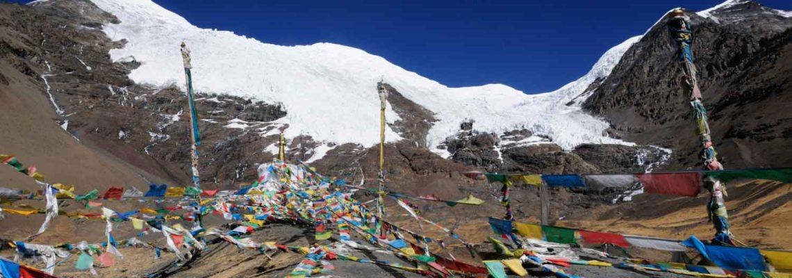 Glacier Noijin Kangsang, Tibet