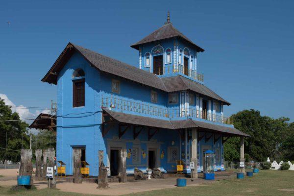 Temple Uthpalawanna Sri Vishnu Devalaya, Dondra, Sri Lanka : la partie Hindouiste