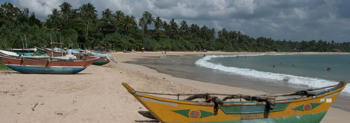 Plage de Talalla, Sri Lanka